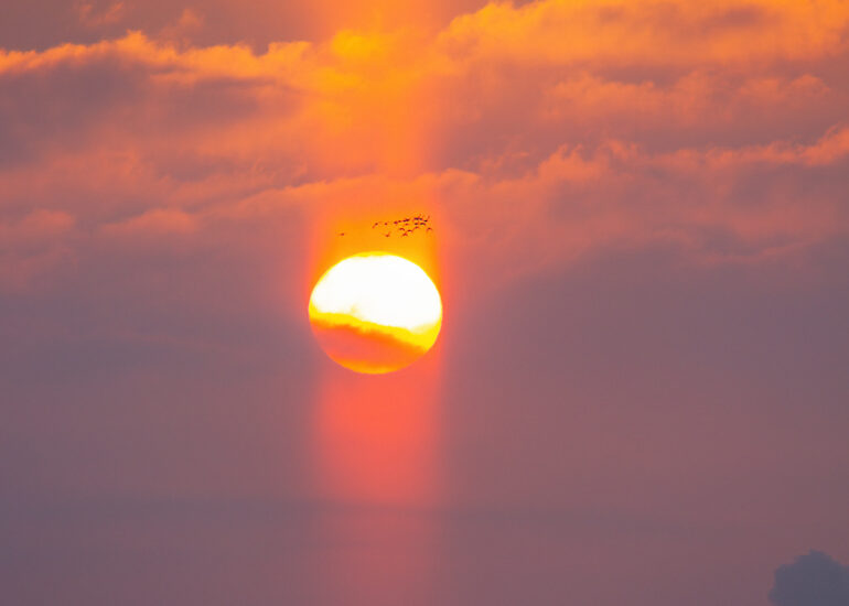 Сонячні стовпи