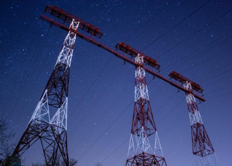 Три Вежі під зорями