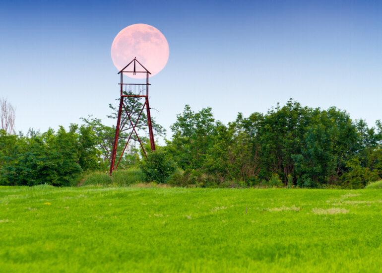 Місяць над Хортицею