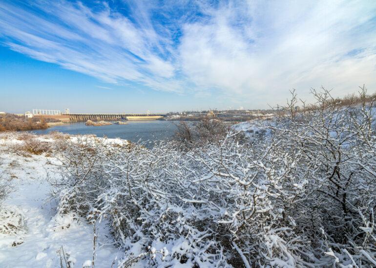 Зима біля Січових воріт