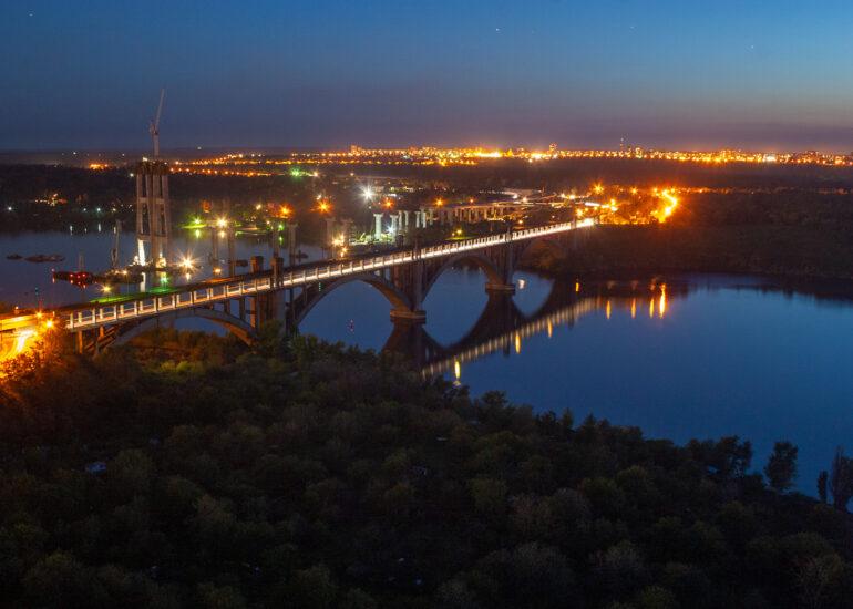Нічний міст Преображенського