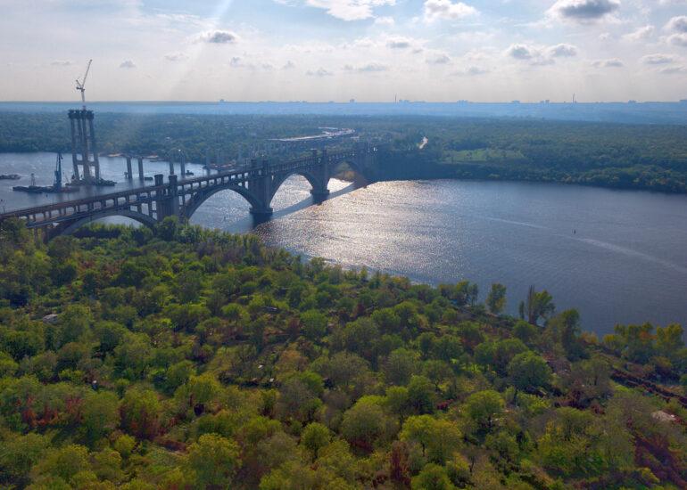 Міст на Хортицю