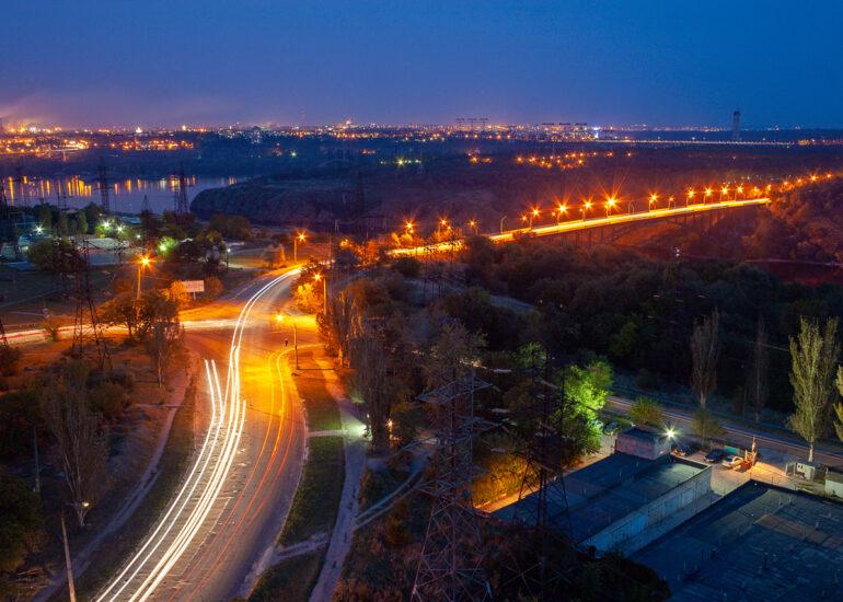 Дорога на Хортицю