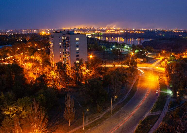 Світло вечірнього міста