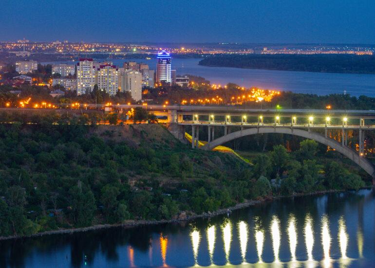 Барви вечірнього міста