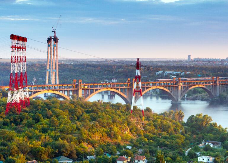 Вид на міст