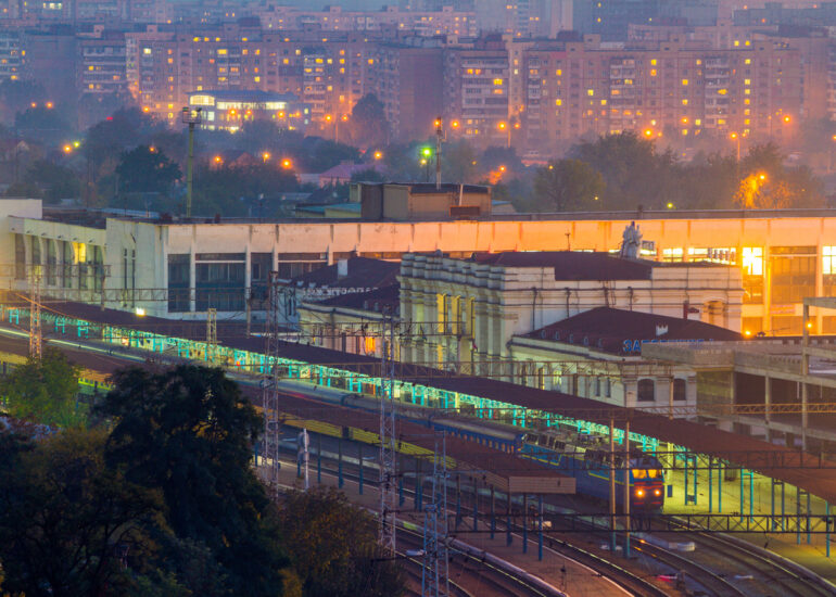 Вокзал Запоріжжя-1