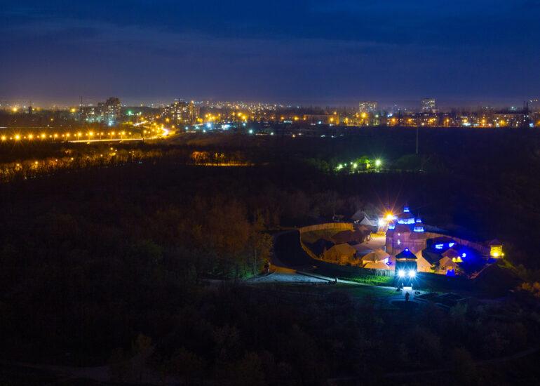 Вночі на Січі