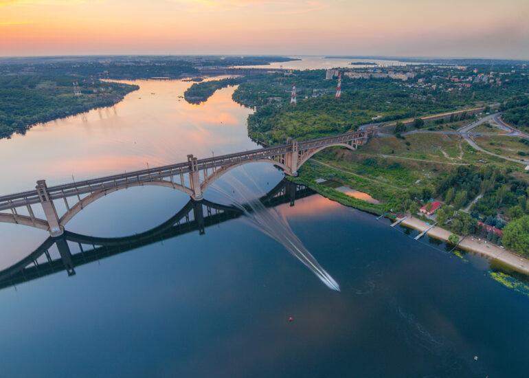 Вечірній Дніпро