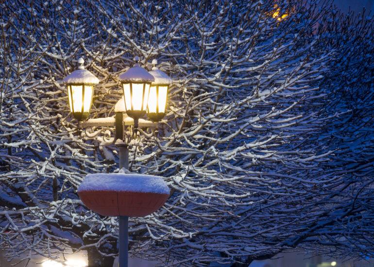 Тепле світло ліхтаря