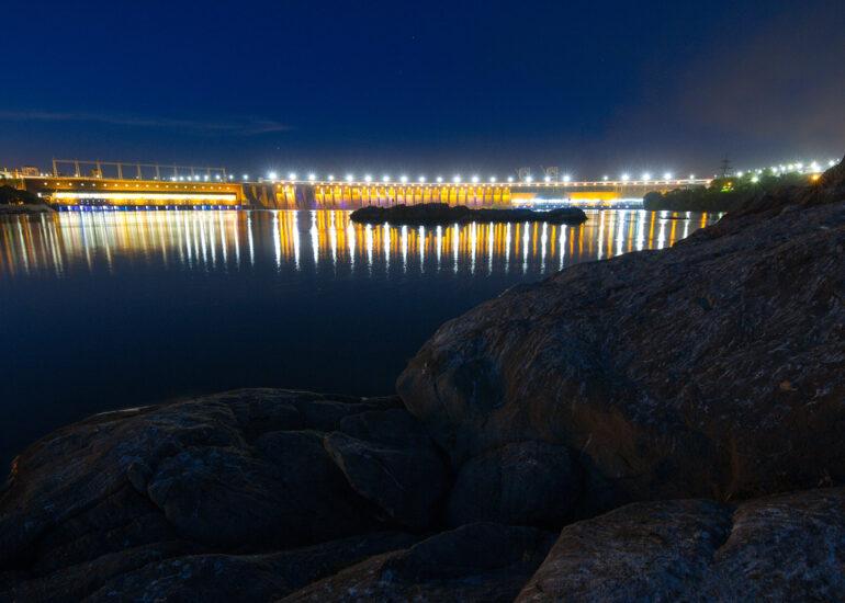 Панорама ДніпроГЕСу