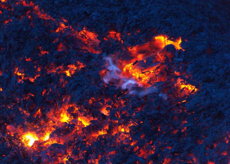 Над вогнищем